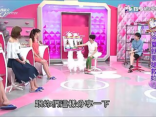 Taiwan TV display Compare feet and meaty Shoes