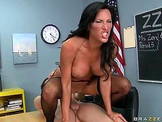Mrs Zen is sexy teacher who likes to fuck