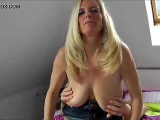 Mature beauty cuckolding her husband with a stranger