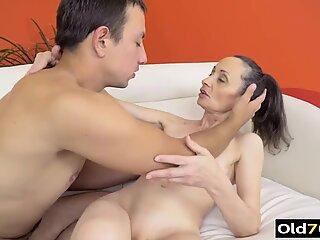 hot granny anal porn