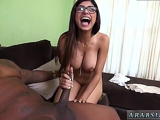 Amateur fun blowjob and big tits muscle handjob Mia Khalifa Tries A Big Black Dick - Renata Black