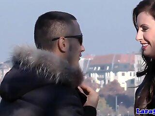 Mature euro slut picks up stranger
