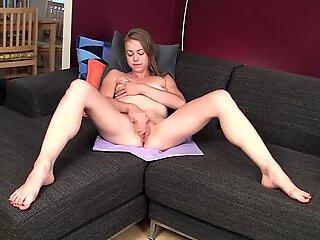 Pierced Amateur Mab Masturbating