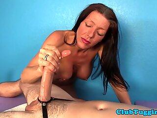 Mature massage cock pleasantly