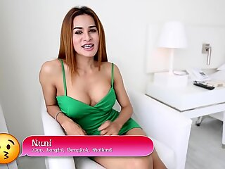HELLOLADYBOY Big tit Thai Girl Loves Rough Sex