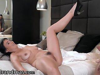 Hot GILF Tastes Her Young Neighbor's Big Dick